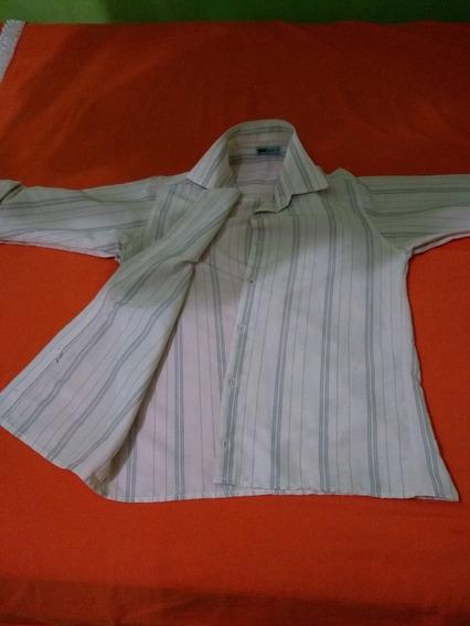 Camisa Social Marga Curta
