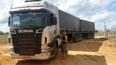 Conjunto Scania Highline 11-12, Impecável 9 Eixos. 3x3 Curto