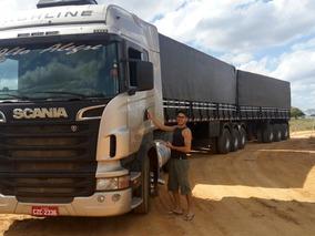 Conjunto Com Scania Highline 11-12, Impecável 9 Eixos. 3x3