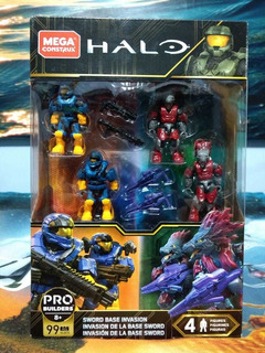 Invasión Base Sword Halo Mega Construx Nuevo