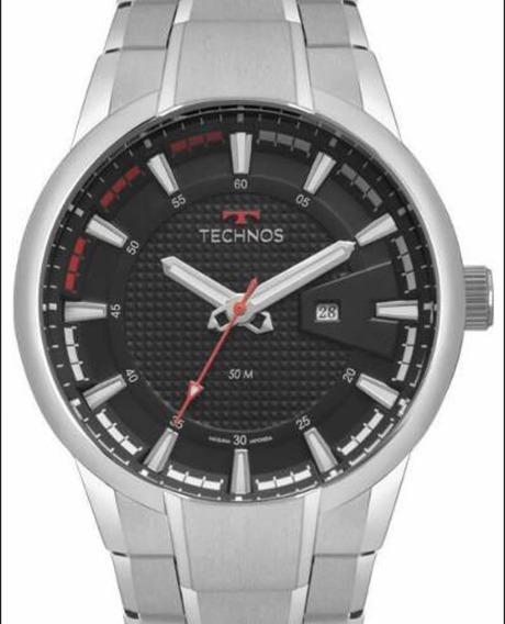 Relógio Technos Masculino Prateado 2117lay/1p