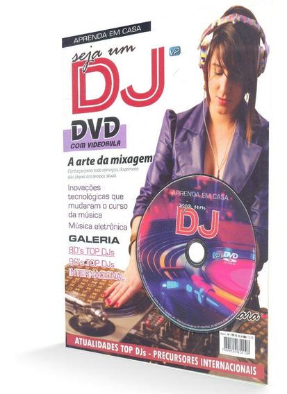 Curso De Dj Revista + Dvd Com Videoaula Aprenda Em Casa