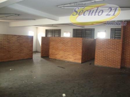 Galpão Comercial Para Locação, Centro, Santos. - Ga0009