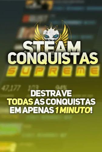 Boost De Desbloqueio De Conquistas De Jogos Na Steam
