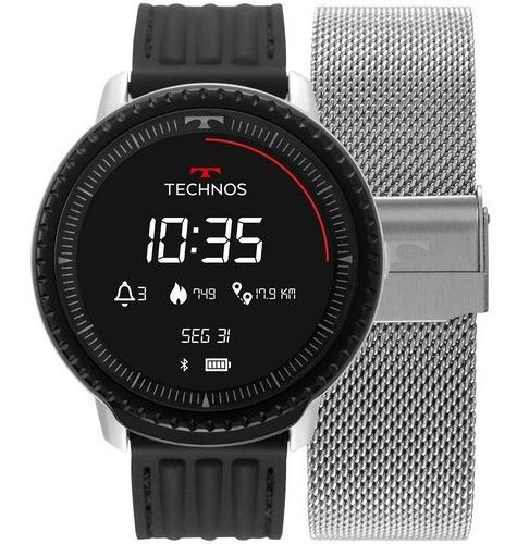 Relogio Smartwatch Technos Connect Id Prata L5ab/4p