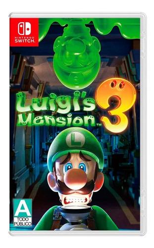 Imagen 1 de 3 de Luigi's Mansion 3 Standard Edition Nintendo Switch Físico