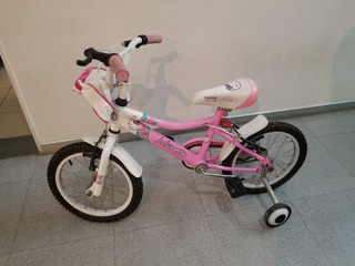 Bicicleta De Nenas Musetta Fantasy Muy Cuidada Rodado 16