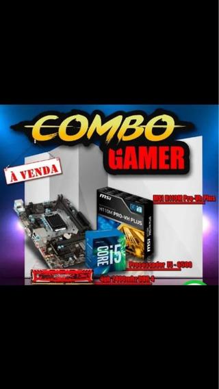 Kit Processador I5 6500+h110m Vh-pro Plus+4gb Ram Dd4