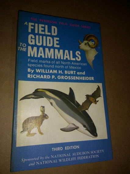 A Field Guide To The Mammal Field Marks Of North American
