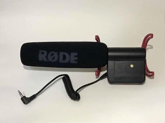 Microfone Rode Videomic Com Sistema De Suspensão Rycote Lyre