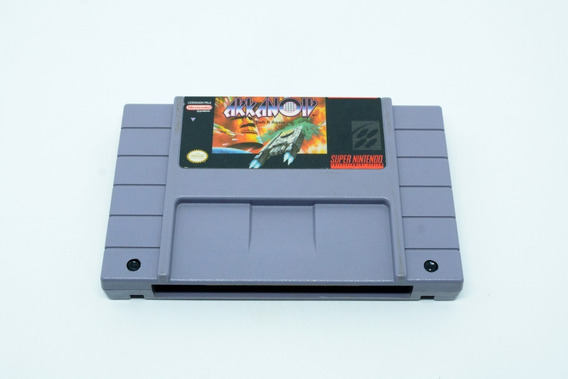Fita Arkanoid Cartucho Super Nintendo