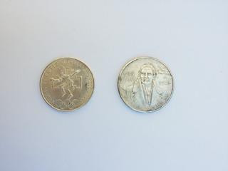 Lote De 2 Monedas De Plata Mexico Olimpiada 68 Y Morelos 100
