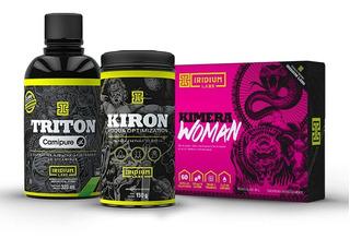 Kit Emagrecimento Feminino - Kimera Woman + Kiron + Triton