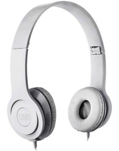 Fone De Ouvido Stéreo Tda Td-7200 - Branco
