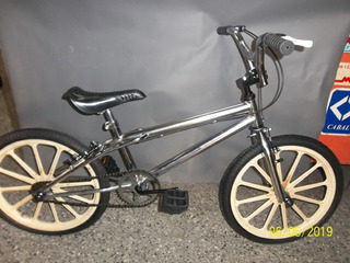 Bicicleta Cross R20 Cromada