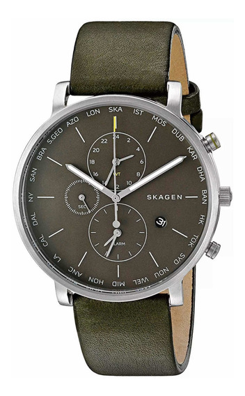 Relógio Skagen Skw6928 World Time Alarm Gmt