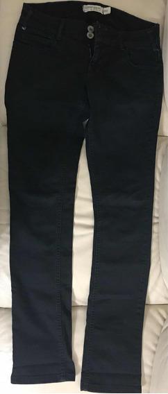 Pantalón Ropa Jeans Negro Mujer Dama Bota Recta