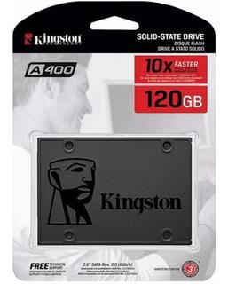 Hd Ssd Kingston 120gb 6gb/s A400 Pc Notebook Pronta Entrega