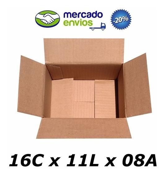 25 Caixas De Papelão 16 X 11 X 08 Tipo 0 M Correio Pac Sedex