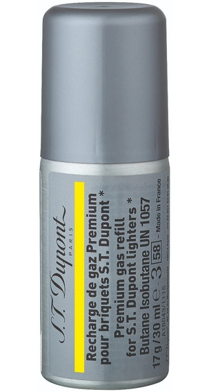 S. T. Dupont Gas Refil Encendedor Yellow 30ml Diego Vez