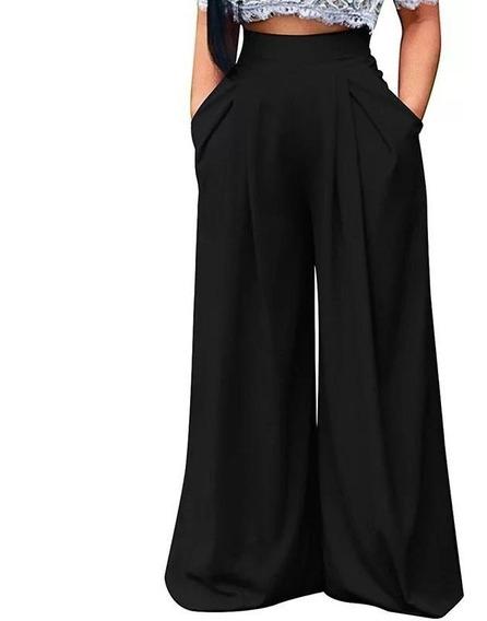 Pantalon Vestir Negro Dama Mujer Pantalones Y Jeans M En Mercado Libre Mexico
