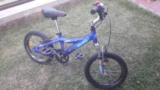 Bicicleta Olmo Reaktor 16 Mtb Con Suspension Avid + Rueditas