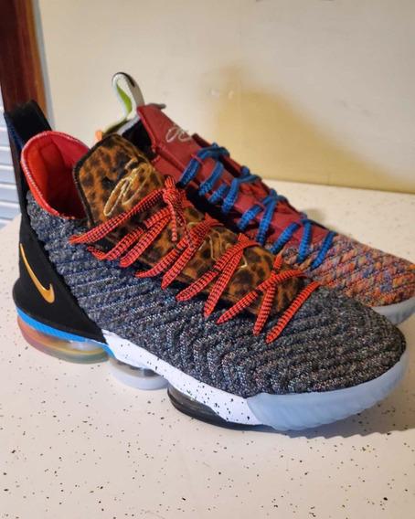 Tênis Nike Lebron 16-leia A Descrição-