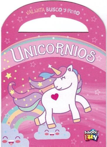 Col. Libros Infantiles Para Colorear (unicornios Y +) X4 U