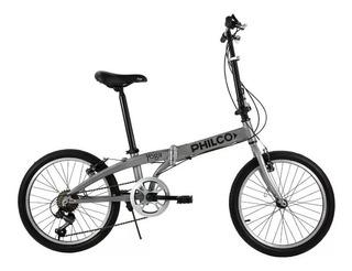 Bicicleta Plegable Aluminio Philco Yoga Rodado 20 Tio Musa
