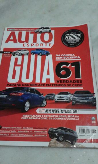 Revista Auto Esporte N 663 Ago 2015