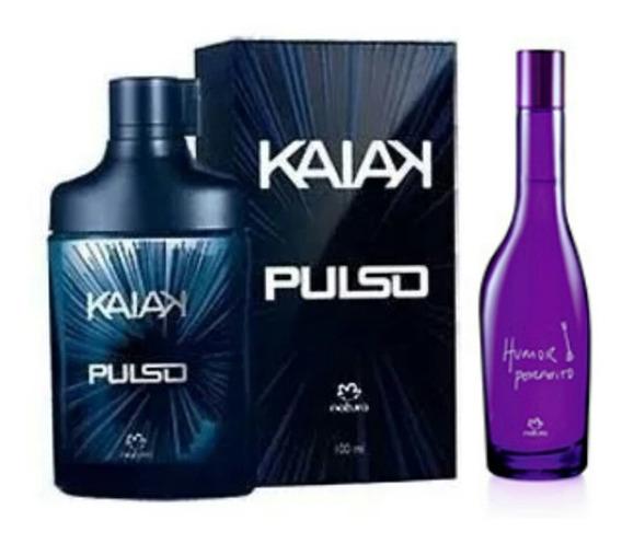Perfume Kaiak Pulso 100ml + Humor Perfeito 75ml Promoção!
