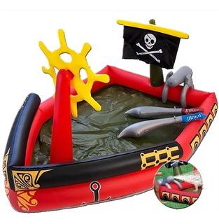 Centro De Juego Acuático Inflable Bestway Piratas