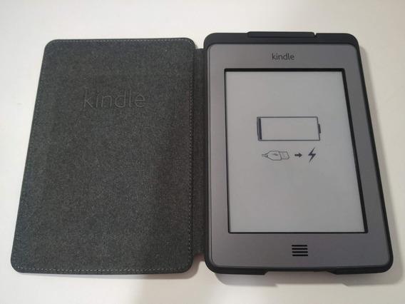 Amazon Kindle Touch 4ª Geração 6 Wifi D01200 + Capa C/ Luz