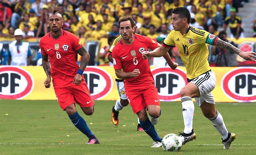 Entradas Galeria Chile Vs Colombia Eliminatorias Qatar 2022
