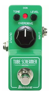 Pedal Ibanez Ts Mini Tube Screamer Made In Japón Libertella