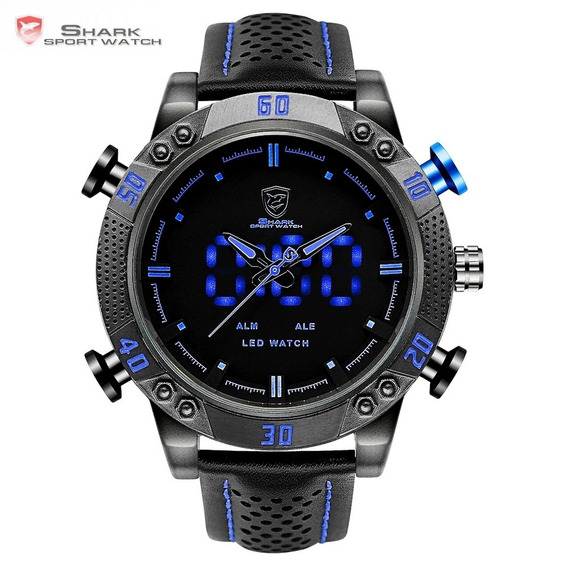 Relógio Shark Orginal Azul