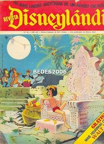 Disneylândia Nº 20 - Editora Abril - 1972