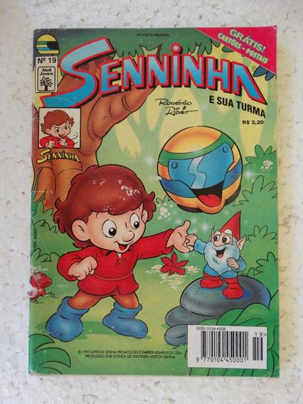 Senninha Nº 19! Editora Abril! Jul 1995! Com Cartões Postais