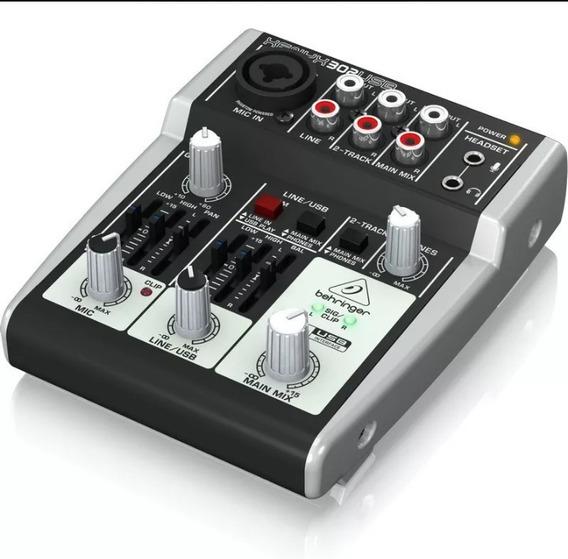 Mesa De Som Xenys 302 Para Gravaçao De Audio 3 Canais