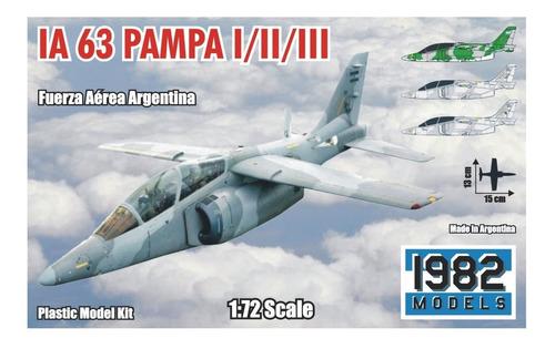 Imagen 1 de 9 de Maqueta Para Armar De Avión Fma Ia 63  Pampa (1/72)