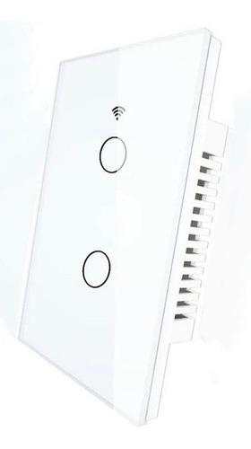 Switch Interruptor Wifi Inteligente Sin Cable Neutro 2 Gang
