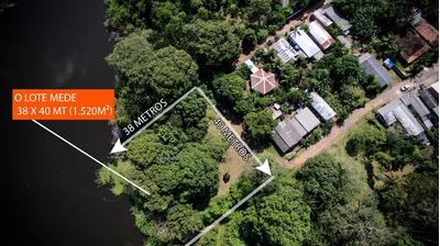 Terreno No Coração Do Amazonas Com Um Lago No Quintal