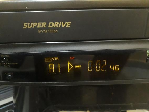 Vídeo Cassete Panasonic Nv Sd10 Com Defeito Para Conserto