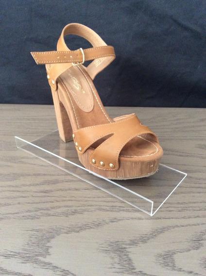 20 Exh. De Zapato Para Panel Ranurado