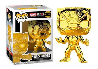 Figura Funko Pop Marvel Ms 10 - Black Panther 383