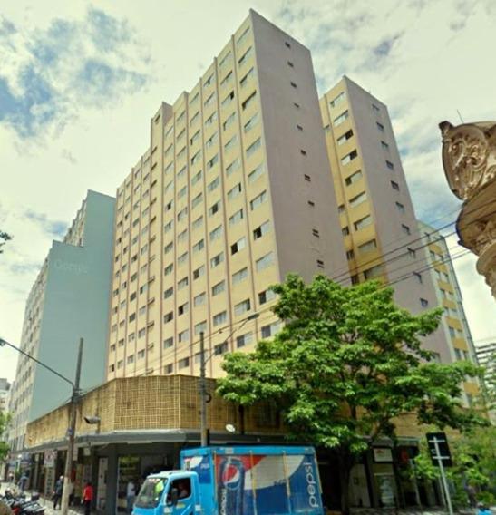 Kitnet Com 1 Dormitório Para Alugar, 29 M² Por R$ 2.200,00/mês - República - São Paulo/sp - Kn0031