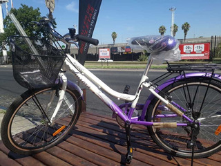 Bicicleta Ona Rodado 24, Aurora