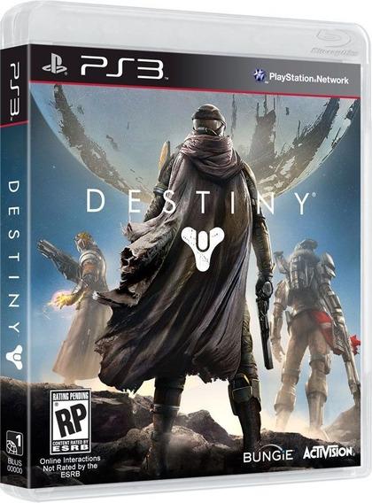 Destiny Ps3 - Somente Online - Original - Mídia Física