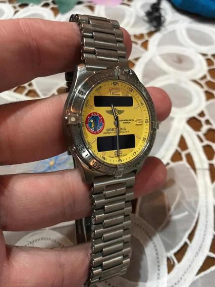 Relógio Breitling Fab - Edição Esquadrilha Da Fumaça 300und