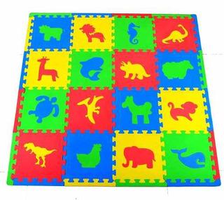 Joyin Toy 16 Pcs Niños Juego De Alfombrillas Con Animales!